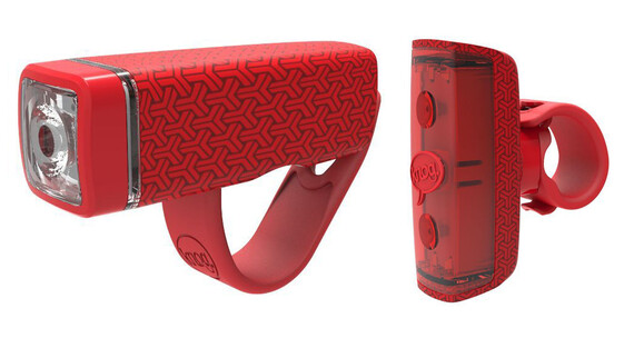 Knog POP Duo fietsverlichting Twinpack rood